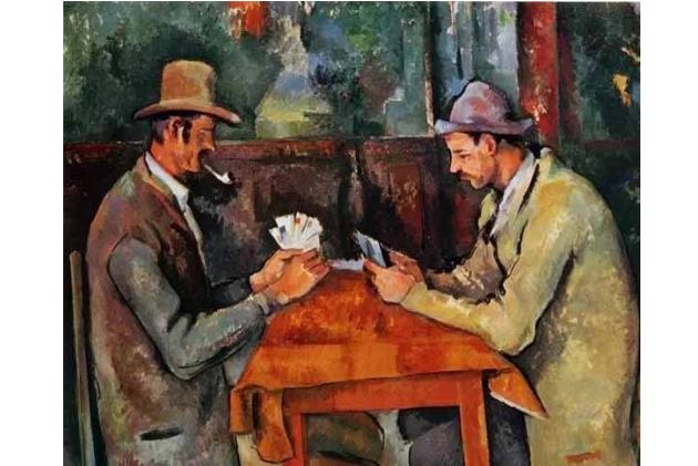 十大世界最贵的画作 玩纸牌者位列榜首,价值20亿人民币