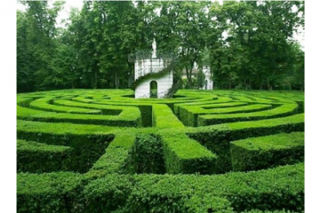 世界十大迷宫 每一个都复杂难辨,你看得懂吗
