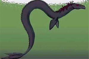 世界十大未知生物 蜥蜴人眼镜冒红光,传说第十能隔空猎物