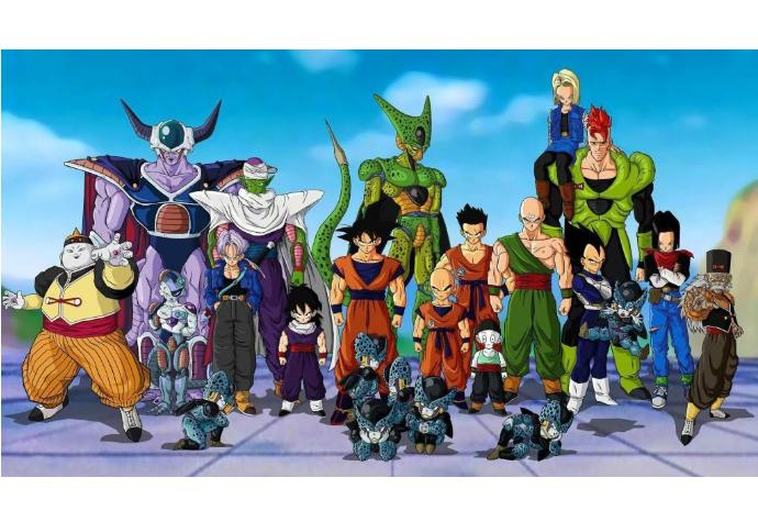 世界最受欢迎的十部动漫 全都来自日本,第一名为七龙珠
