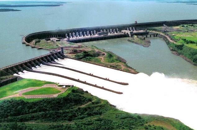 世界十大发电站 三峡大坝排第一,容量达22500兆瓦