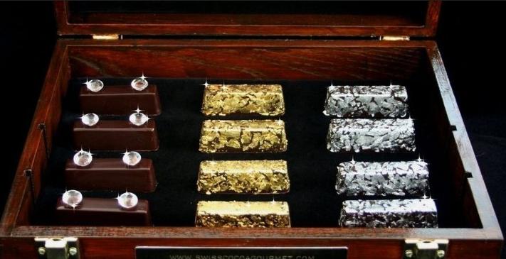 世界上最贵的十大巧克力 第一名价值150万美元