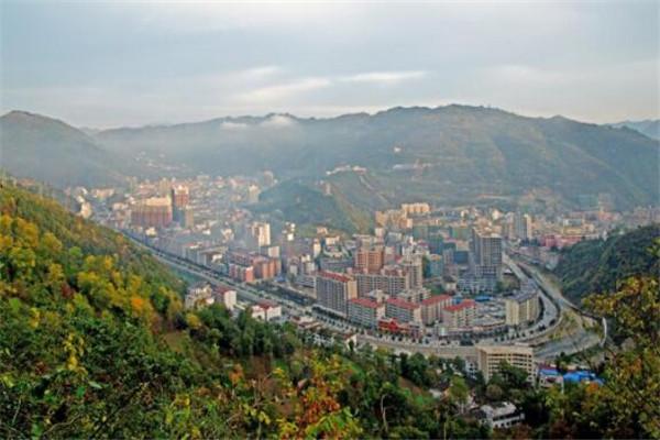 陕西十大县城排名 镇安县盛产板栗,第二是有名的粮油基地之一