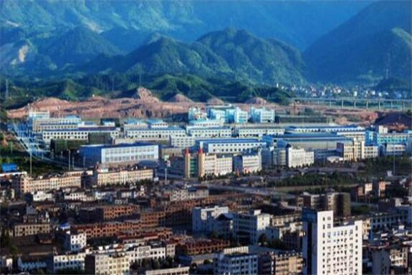 浙江省十大经济县城 海盐县工业实力强,第四萤石储量全国居首