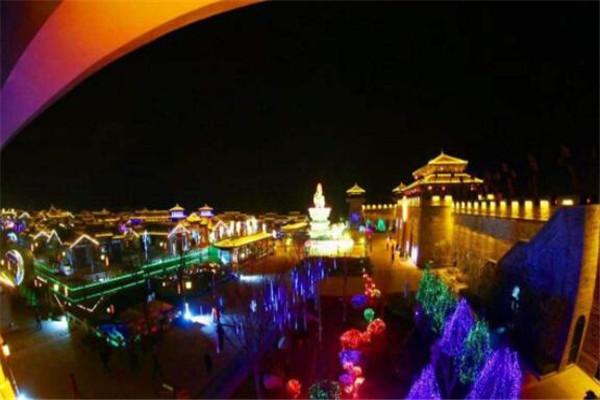 陕西十大县城夜景 太白县上榜,城固县是我国的粮油基地