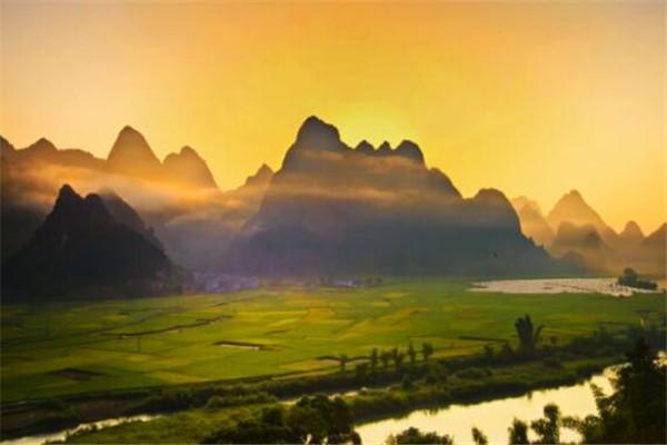 广西最美十大县城排名 灵山县上榜,第三你肯定知道