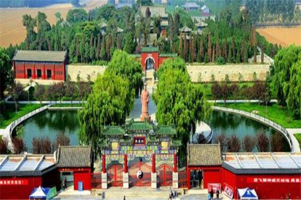 河南省十大千年古县城 上蔡县古蔡八景闻名全国,你知道哪几个