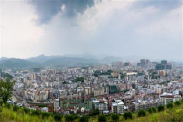 广东十大县城面积 博罗县上榜,榜首占地5634.21平方公里
