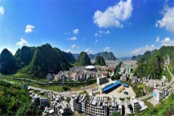 广西十大贫穷县城 环江县是兰花之乡,百色多县上榜
