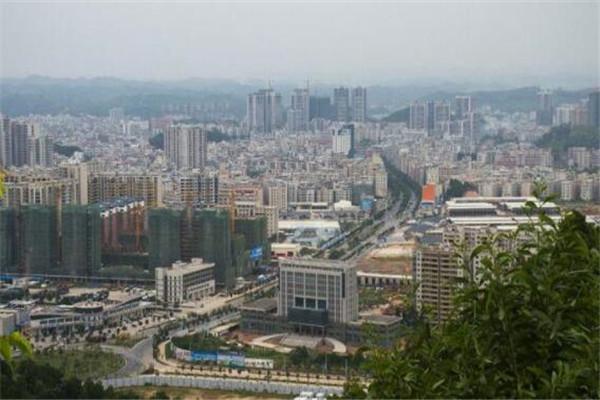 广东十大县城经济排名 博罗县上榜,普宁市18年GDP702.9亿