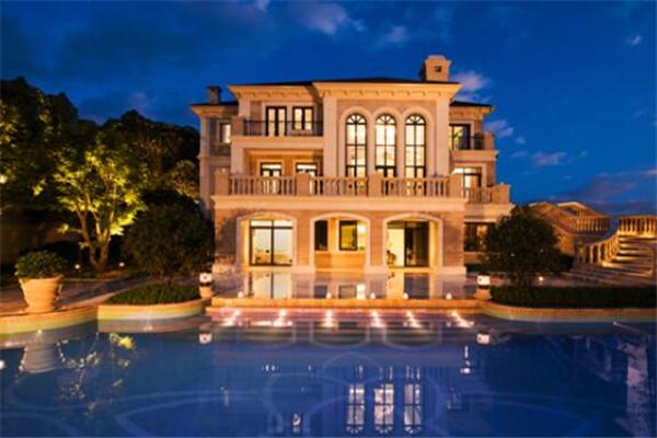 重庆十大豪宅排名 蓝湖郡上榜,第九整体外观设计很科幻