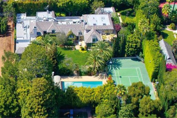 比佛利山庄十大豪宅 第二价值1.9亿,没有最豪只有更豪