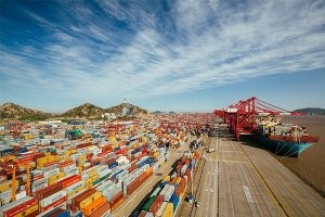 2019全球港口排名 上海港居首,前十国内港口占据七位