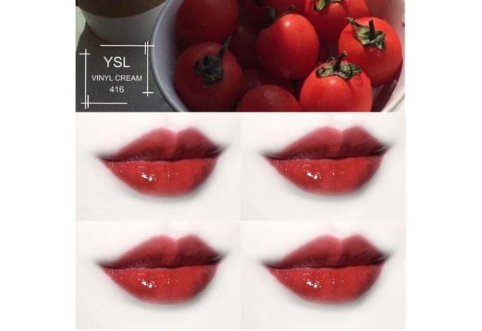 番茄色口紅排行榜 阿瑪尼405人氣最高,YSL416元氣又百搭