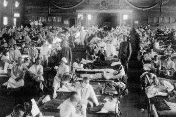 人类历史上最为惨烈的灾难:1918大流感排名第一,唐山大地震第三
