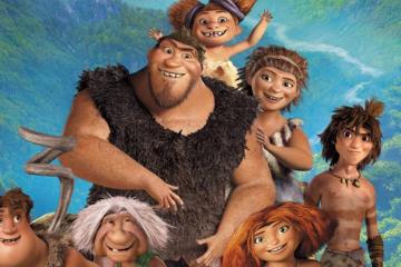 最搞笑的10部动画电影:疯狂原始人排名第一,欢乐好声音第二