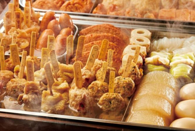 日本旅行必吃的传统小吃 章鱼小丸子人气最高,关东煮一定要吃