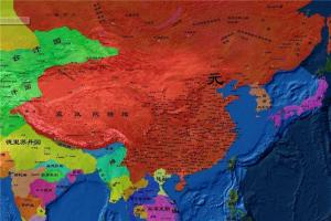 國曆史國土麵積排行 元朝麵積最大可達1680萬平方公裏