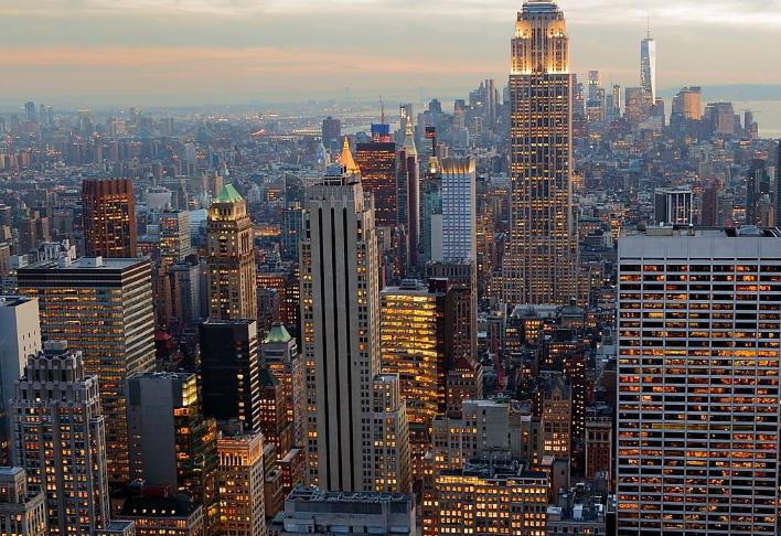 全球五大都市排行榜 中国仅香港上榜,纽约位列世界第一