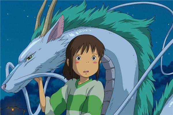 日本十大经典动画 千与千寻上榜第二相当有趣