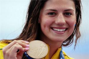 世界四大泳坛美女运动员 第二来自中国美丽而可爱
