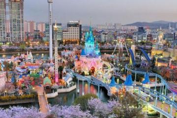 世界十大最佳游樂園 樂天世界第二名副其實城中之城