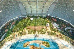 世界十大最佳室內水上樂園 水立方僅第四熱帶島嶼景觀獨特