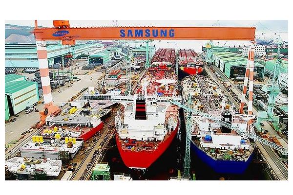全球十大造船集团 韩国现代重工位列榜首,年收高达百亿美金