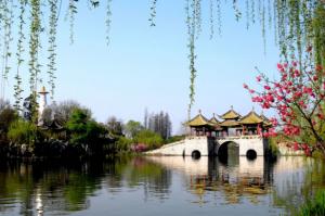 江苏十大旅游景点:廋西湖上榜,它是古桥小镇