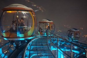 世界十大最高摩天輪排名:倫敦眼第六,超一半在中國