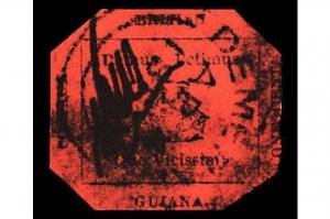 全球十大最貴郵票 中國一片紅智能排第八,第一價值948萬美元