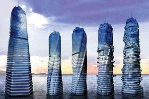 世界十大最奇特建筑 歪歪屋有著歪七扭八的形狀很是特別