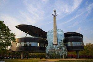 人妻中文字幕无码系列最美现代建築top10 银河SOHO是地标钢琴屋造型独特