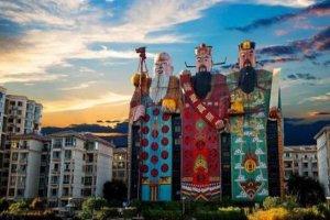中國十大雷人建筑 元寶塔與囍字樓都有著極其俗氣的外表