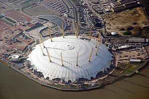 世界十大最丑建筑 倫敦千禧巨蛋毫無設計感