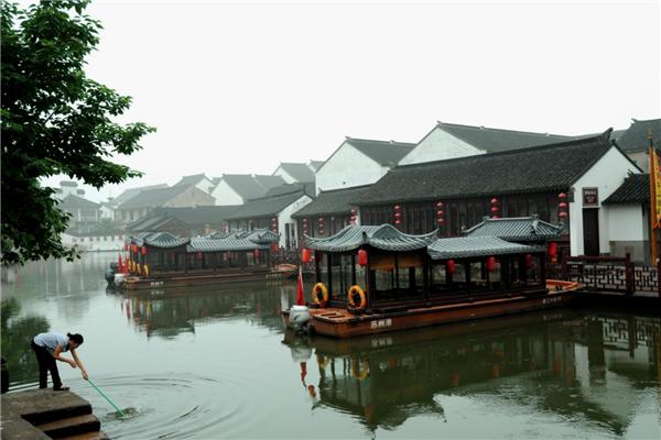 中国十大著名古镇