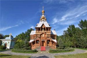 哈尔滨五大历史建筑 极乐寺与防洪纪念塔极具代表意义