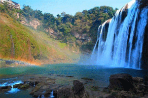 貴陽亚洲久久无码中文字幕最受欢迎景點:青岩古鎮上榜,第一是中华第一瀑布