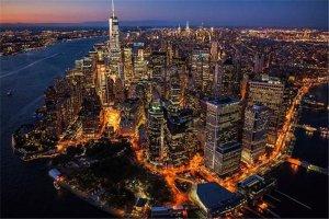 全球公认四大繁华城市 东京上榜 纽约是金融中心