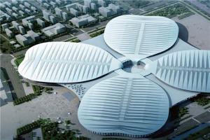 魔都十大地标建筑 上海体育场与上海国家会展中心上榜