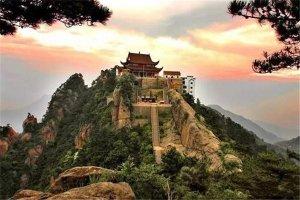 池州十大风景名胜排名:望华楼上榜,第8网红花海