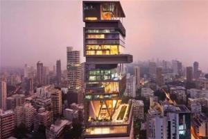 亚洲十大豪宅排名榜2021:汤臣一品上榜,第一为印度富豪打造
