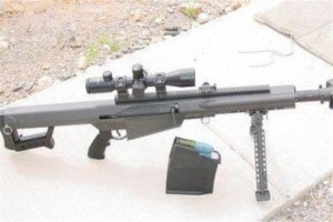 十大反器材狙击步枪:G24型狙击步枪上榜,第八来自于中国