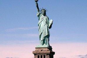 美国十大标志性建筑 白宫上榜 自由女神像第一