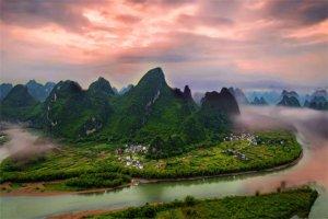 广西十大美景排行榜:涠洲岛上榜,第十是龙脊梯田