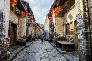 广西十大古镇排行榜:中渡古镇上榜,第一有着千年历史