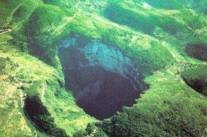 世界十大著名天坑 冰岛陷坑上榜,有四个都在美国