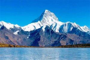 四川十大雪山排行榜:嘎金雪山上榜,第一海拔高度最高