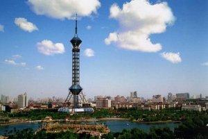 石家庄十大高楼排行榜:石家庄电视塔第一,第十高168米