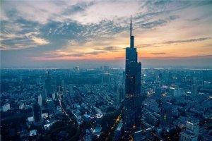 2021南京市十大地标建筑排行榜:南京紫峰大厦第一,夫子庙在榜